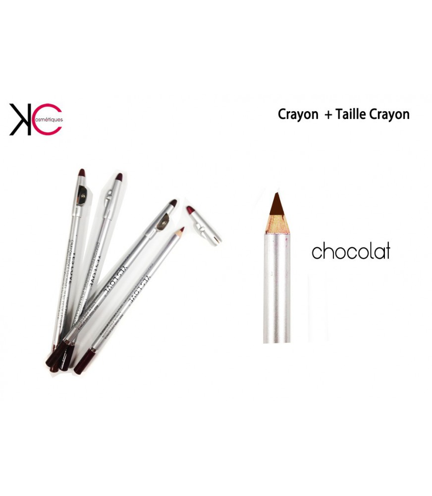 Nouvelle Gamme Crayon + Taille Crayon 2en1 Lèvres Yeux YesLovee