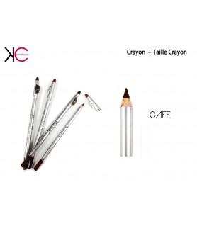 Crayon+Taille Crayon 2en1 YesLove Café