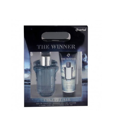 COFFRET PARFUMS THE WINNER TAKES IT ALL