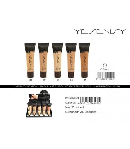FOND DE TEINT YESENSY Y0205/N01