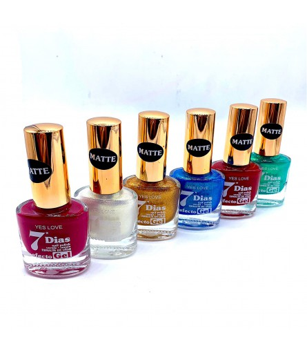 VERNIS EFFET GEL YES LOVE MAT N°1