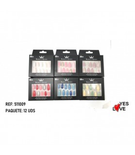 FAUX ONGLES PRO REBECCA QUEEN 511009/8