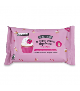 LINGETTES THE FRUIT COMPANY FRAISE CHANTILLY