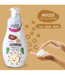GEL MOUSSE THE FRUIT COMPANY COCO 250 ML