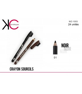CRAONS SOURCILS YES LOVE NOIR